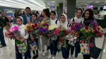 Afghan female robotics team finally arrives in U.S. to compete