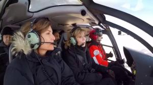 Alberta helicopter pilot talks about Jane Fonda's oilsands tour