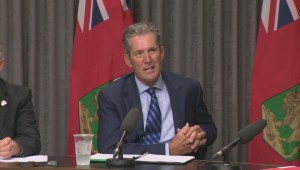Manitoba premier responds to questions about communication when he's in Costa Rica