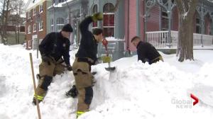 Halifax fire and police departments stress snow safety