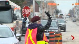 Dancing crossing guard told by Toronto Police to 'stop'