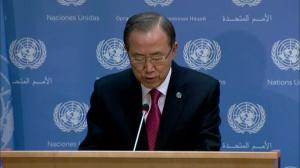 Ban Ki-moon makes Mandela statement