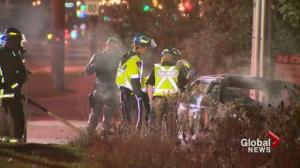 Mississauga car fire leaves two dead