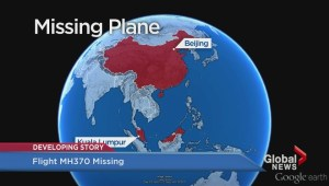 Malaysia Airlines plane missing