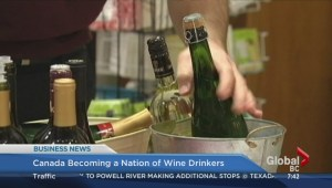 BIV: Canada becoming nation of wine drinkers