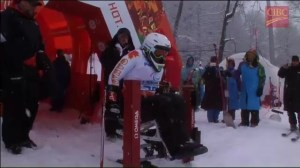 Joines battles to slalom silver at Paralympics