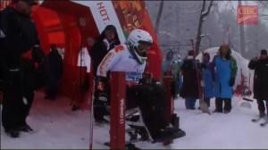 Joines battles to slalom silver at Paralympics