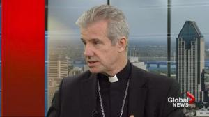 Archbishop Lepine on Quebec's Charter of Values