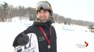 Acton snowboarder wins Provincial High School title