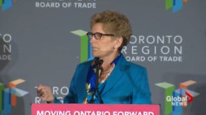 Wynne promises $29 billion for transit and infrastructure over next decade
