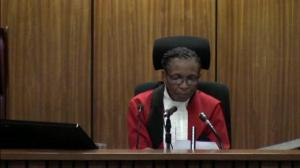 Judge in Pistorius trial angry that images of witness in the trial were broadcast yet again