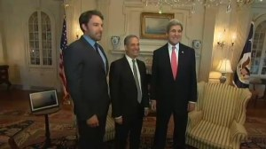 Ben Affleck meets with John Kerry regarding Congo