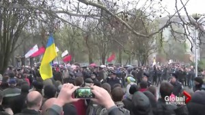 Russia blamed for renewed Ukraine unrest