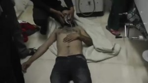 Syrian govt and rebels blame each other for gas attack that injured scores