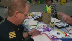 Calgary Food Bank: Empty Bowl Benefit painting day