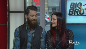 Kenny Brian and Sarah Miller from 'Big Brother Canada'