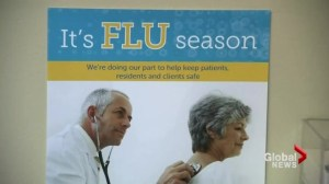 Flu shot policy for health care workers