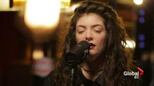 17-year old singer Lorde on success