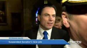 Suspended Senator Brazeau gets a new job