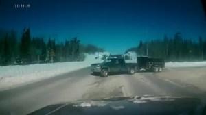 Dash cam captures terrifying crash