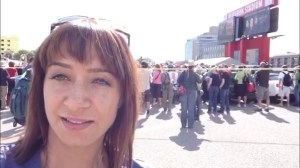 Vlog:  Volunteers come to help out in Calgary