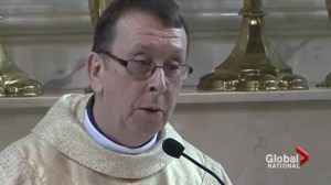 Irish priest's covers song 'Hallelujah' at wedding