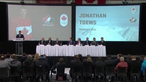 Canada's team in Sochi