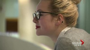 18-year-old girl taking on Rob Ford and others in race for city's top job.
