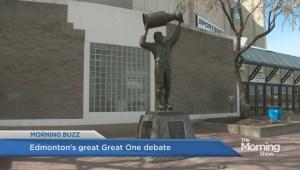 Wayne Gretzky statue controversy