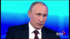 Putin addresses Ukraine crisis in Q & A