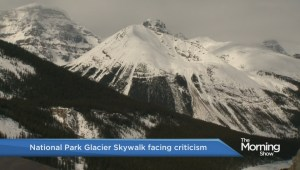 The new Glacier Skywalk in Jasper National Park