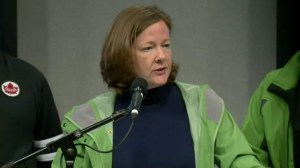 Premier Redford updates flooding situation across Alberta