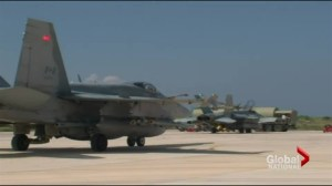 Ukraine crisis: Canada sending jets to Europe