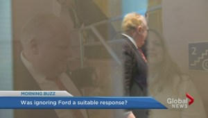 Ford not exactly Mr. Popularity at Big City Mayor's Meeting