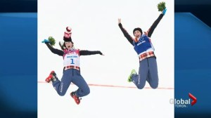 Canadians win gold and silver in women's ski cross