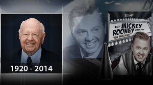 Farewell to Hollywood legend Mickey Rooney