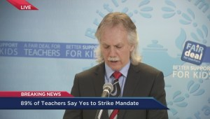 Teachers vote in favour of strike action
