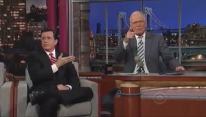 Stephen Colbert taking over for Letterman
