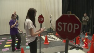 RCMP show dangers of distracted driving to students