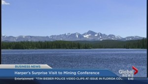 BIV: Harper's surprise visit to mining conference