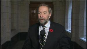 Mulcair praises Menzies as a 'dedicated member of Parliament'