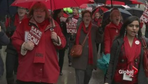 BC nurses rally for more nurses