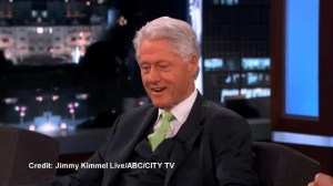 Bill Clinton jokes about Rob Ford on Jimmy Kimmel Live