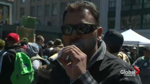 Torontonians partake in Canada-wide legalize pot rally