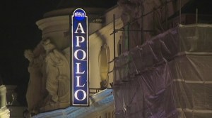 Ceiling collapses at London theatre