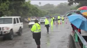 Raw video: Heavy flooding in Solomon Islands