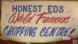 Toronto lines up for Honest Ed's memorabilia
