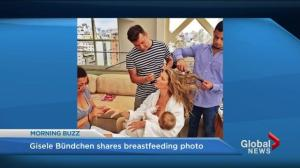 Gisele Bündchen's breastfeeding photo