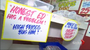 Big lineups expected for Honest Ed's sign sale.
