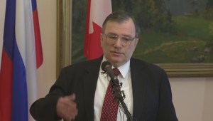 Canada's Russian ambassador not worried about sanctions